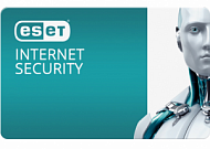 Антивирус ESET Internet Security для 2 ПК, лицензия на 1year