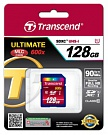 Карта памяти Transcend Ultimate SDXC 128GB Class 10 UHS-1