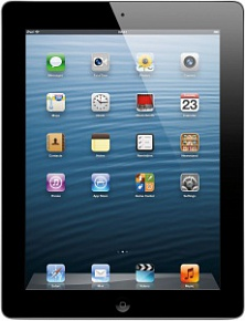 Планшет Apple A1460 iPad with Retina display Wi-Fi 4G 128GB (black)